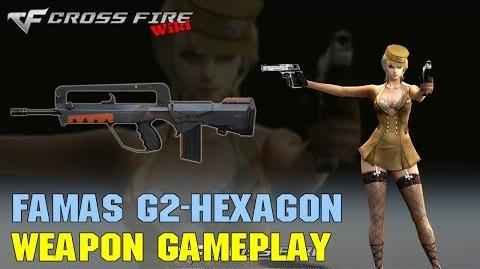 CrossFire - FAMAS G2-Hexagon - Weapon Gameplay