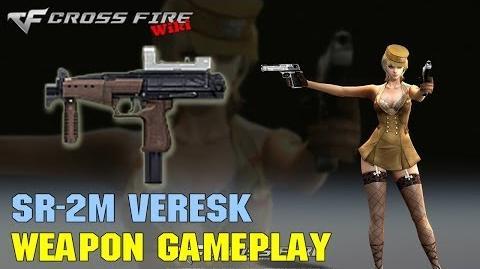 CrossFire - SR-2M Veresk - Weapon Gameplay