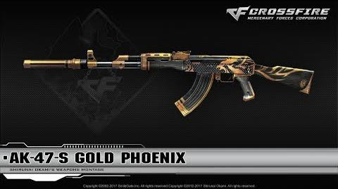 CrossFire China 2.0 AK-47-S Gold Phoenix ☆