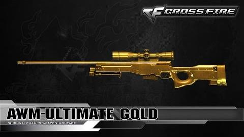 CrossFire Vietnam AWM-Ultimate Gold ☆
