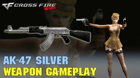 CrossFire - AK-47 Silver - Weapon Gameplay