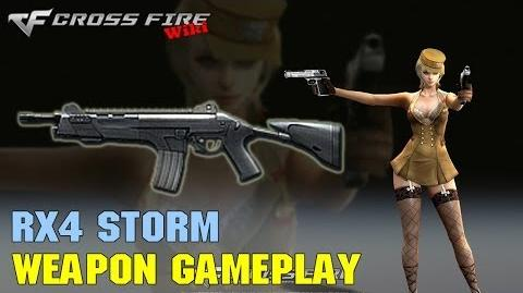 CrossFire - RX4 Storm - Weapon Gameplay