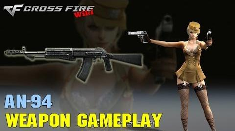 CrossFire - AN-94 - Weapon Gameplay