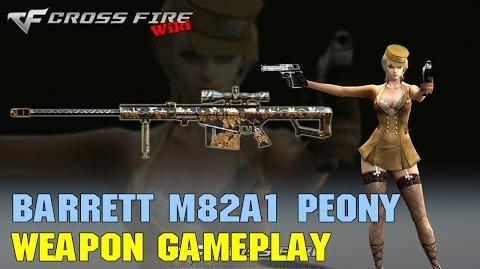 CrossFire - Barrett M82A1 Peony - Weapon Gameplay