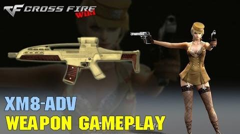 CrossFire - XM8 Adv - Weapon Gameplay