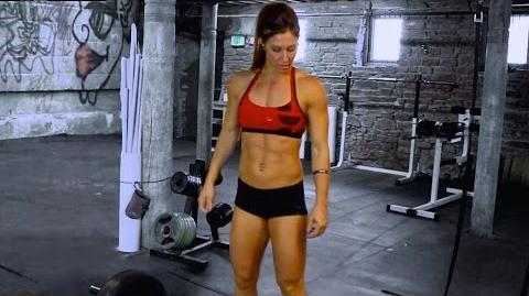 Andrea Ager Performs the Dreaded Tabata Workout