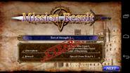 Mission result