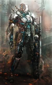Rifleman concept by killmatthew33-d5mfkou