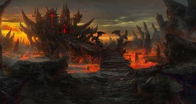 Aegik 6 tile evil fortress by tyleredlinart-d6m4epq