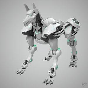 Robot dog by keremcg-d4m4fy8