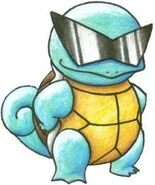 Squirtle sunglasses by tyaeyu