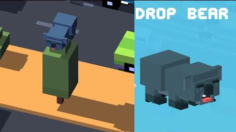 Crossy Road iOS App - Unlock Drop Bear NEW Australian Secret Character!