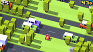 CrossyRoad InAction JungleFrog