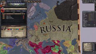 Russian Empire 1192 AD