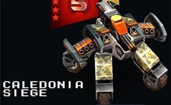 Caledonia Siege