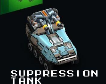 Suppression Tank