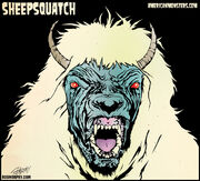 Sheepsquatch morphy small rgb