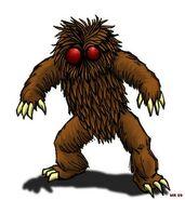Hairy- dwarf