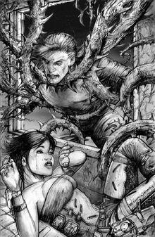 Rifts thorn vine illustration by chuckwalton-d6524sb