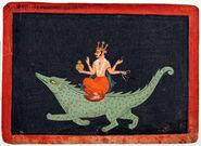 Indian makara