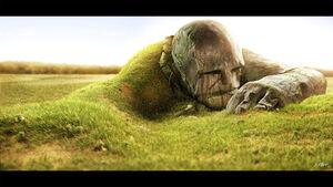 Fallen giant by batatalion-d4whm9b