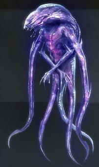 Unarmored alien