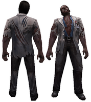 Scientist zombie model
