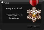 Phobos Slayer Medal