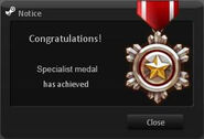 Specialist Medal