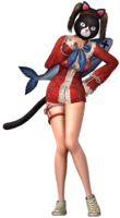 Yuri wcat costume