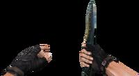 Knife seal viewmodel