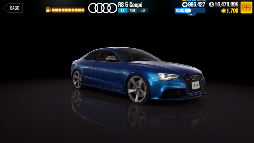 audi rs5 coup csr racing wiki fandom powered by wikia. Black Bedroom Furniture Sets. Home Design Ideas