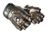 Studded bloodhound gloves bloodhound metallic light large