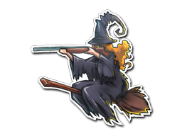 File:Csgo-community-sticker-2-witch large.png