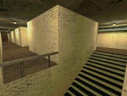 De train0009 long hall stairwell