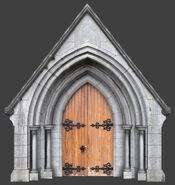 De vostok Church Side Entrance