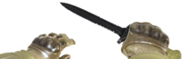 V knife idf