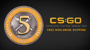 CSGO Blogpost PhysicalFiveYearCoin