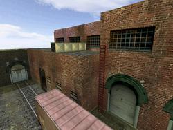 De train0023 Bombsite B Rooftop ladder