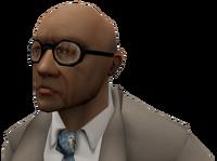 Businessman head2 ds