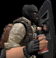 P hegrenade shield cz