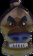 Crash Bandicoot N. Sane Trilogy Tiny Tiger Head in Vortex