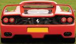 Ferrari F50 Rear View