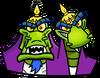 Crash Bandicoot N. Sane Trilogy Komodo Brothers Icon