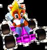 CTR Crash Team Racing Coco Bandicoot In-Kart