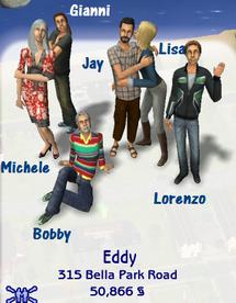 Eddy family (Belladonna Cove)