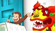 Curious George Season 9 Episode 5 George's Curious Dragon Dance Bowling for Bobolinks
