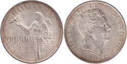 Romania coin 100000 lei 1946