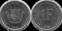 Burundian 1 franc coin