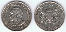 1 Kenyan Shilling 01